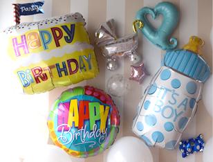 誕生日会・出産のお祝いバルーン