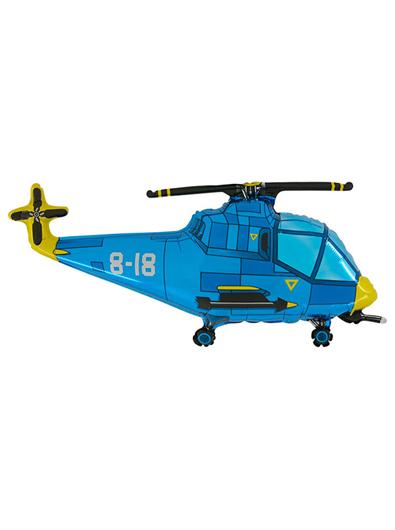 ヘリコプターブルー